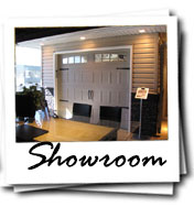 Calgary Garage Door Services Showroom